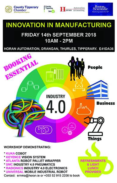 Innovation in Manufacturing Event Sept 14th 2018